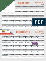 04. Calendario CTO 2016