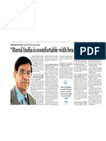 Rural india is comfortable with brand stickiness:Pradeep Kashyap, CEO,MART