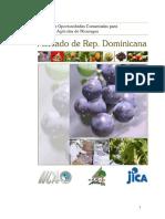 IICA - ESTUDIO PRODUCTOS AGRICOLAS - MERCADO REP. DOMINICANA