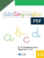 ORTOGRAFIA BASICA 15 - DYLAR