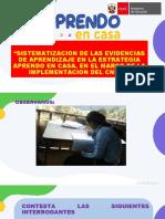 ANALISIS DE EVIDENCIAS Y SISTEMATIACION DANIEL.pptx