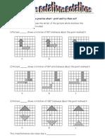 Rotation Practise Sheet