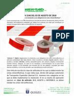 MANUAL CINTAS RETROREFLECTIVAS - TRANSLIBERTAD S.A.