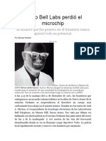 Cómo Bell Labs perdió el microchip-How Bell loss the Microchip.pdf