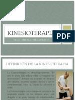 KINESIOTERAPIA.- CLASIFICACION