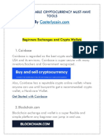 100+ ACTIONABLE CRYPTOCURRENCY MUST-HAVE TOOLS
