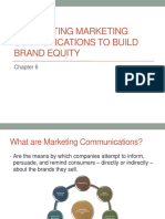 Chapter 6 - Integrating Mktg Comm 2 Build Brand Equity(1)