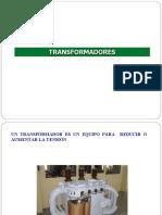 TRANSFORMADORES 2014-I