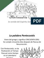 PENTESCOSTÉS