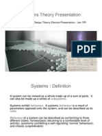 Systems Theory Presentation 2