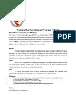 NSTP course syllabus