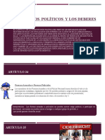 Capitulo III Los Derechos  Políticos  y los deberes (1)