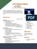 Kunal Resume_