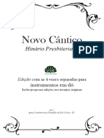 Hinário Presbiteriano Novo cântico - Hinario em Dó com as 4 vozes.pdf