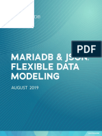 Mariadb and json flexible data modeling - Whitepaper