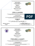 Republika ng Pilipinas cert