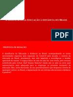 A (in)eficácia da Educação à distância no Brasil