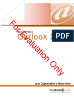 Outlook Course Ware 2010