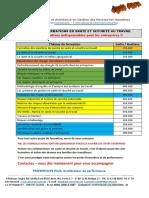 OFFRE DE FORMATIONS EN SANTE ET  SECURITE AU TRAVAIL 2020.pdf