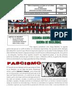 IDEARIO IDEOLOGÍAS SEGUNDA GUERRA