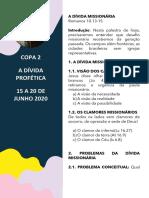 03 A DÍVIDA MISSIONÁRIA