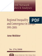 Regional Inequality in Europe