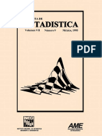 Revista estadistica Vol 9 1995