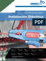 Productos para instalación eléctrica Weicon