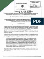 Decreto Cuarentena Agosto