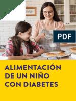 Guía de alimentos niños con diabetes