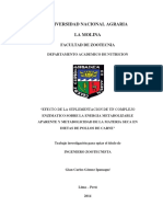 Gomez - 2014 - UNIVERSIDAD NACIONAL AGRARIA LA MOLINA FACULTAD DE ZOOTECNIA ENZIMATICO SOBRE LA ENERGIA METABOLIZABLE APAREN