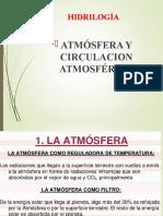 LA ATMOSFERA CIRCULACIÓN GENERAL DE LA ATMÓSFERA