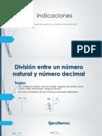 División entre un número decimal y número decimal 28042020