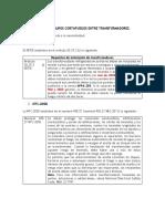 Requerimiento de muros y certificación