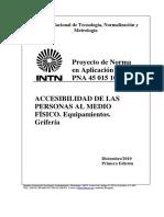 PNA 45 015 10 – Grifería
