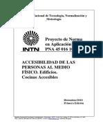 PNA 45 016 10 – Cocinas Accesibles