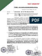 MEMORANDUM No.  1433 -2016-REGPOL-AYA.DIVPOS-A.SEC.  ___FALTA DE LA RESOLUCIÓN DIRECTORAL DE CREACIÓN DE LAS UNIDADES PNP__