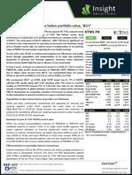 Pakistan Insight - 20200729 - KTML PA - Mkt cap. drops below portfolio value, 'BUY'