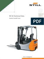 Still RX50 Forklift Brochure