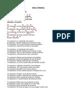 Misa Crismal PDF