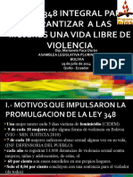 PRESENTACION Diputada Marianela Paco-Bolivia