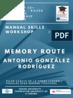 Memory Route - Antonio Gonzalez Rodriguez