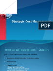 Strateic Cost Management