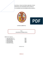 Evaluacion del Sistema de Impacto Ambiental - Grupo Agua