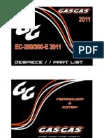 GAS GAS EC300 PARTS CATALOG