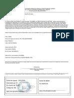 DECLARACION PARA INGRESO DE VEHICULO PARTICULAR DE TURISMO -  CRUZ LOPEZ