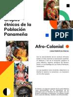 Grupos Étnicos de la Población Panameña