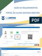 TUTORIAL- SECRETARIA VIRTUAL REQUERIMENTOS- Para aluno1