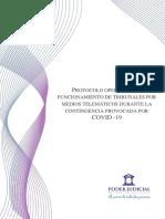 Protocolo Operativo de Funcionamiento Telemático - PJUD