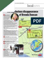 Mysterious death - Brenda Duncan